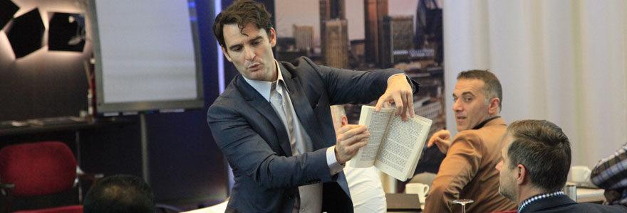 Christophe Ambre artiste magicien mentaliste Suisse soirée Horlogère